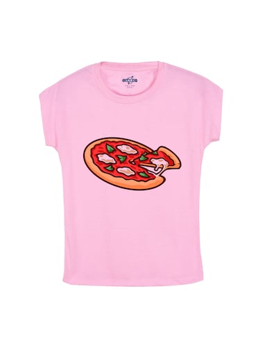pink cotton t-shirt - 14530643 - Standard Image - 1