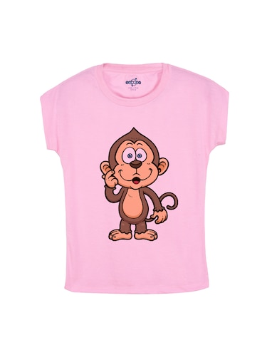 pink cotton tee - 14530863 - Standard Image - 1