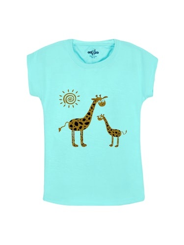 light blue cotton tees - 14530980 - Standard Image - 1