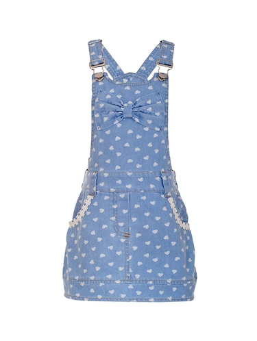 blue cotton dungaree - 14531865 - Standard Image - 1