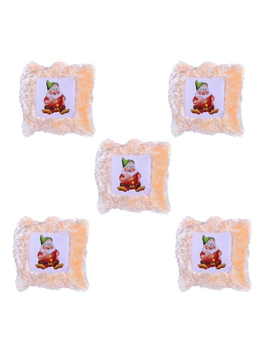 "Cartoon Character ""dwarf"" Printed Set Of 5 Cushion Covers - 14535632 - Standard Image - 1"