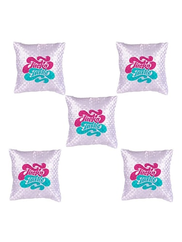 Quoted Printed Set Of 5 Cushion Covers - 14535726 - Standard Image - 1
