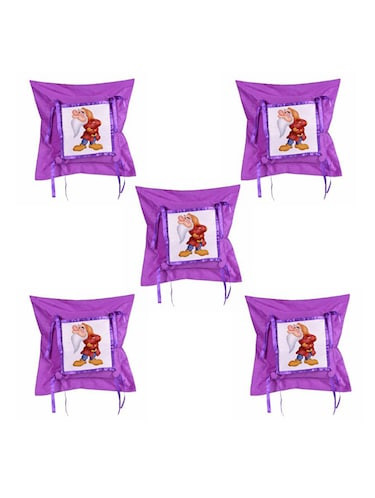 "Cartoon"" Dwarf""  Printed Set Of 5 Cushion Covers - 14535812 - Standard Image - 1"