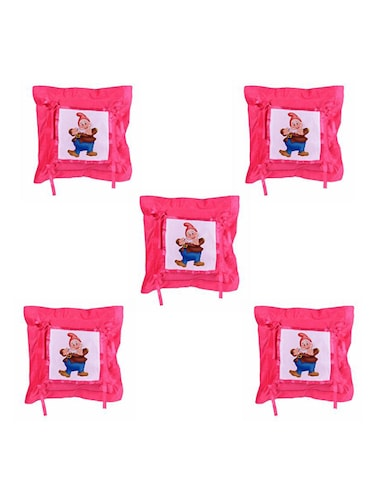 Cartoon Printed Set Of 5 Cushion Covers - 14535853 - Standard Image - 1