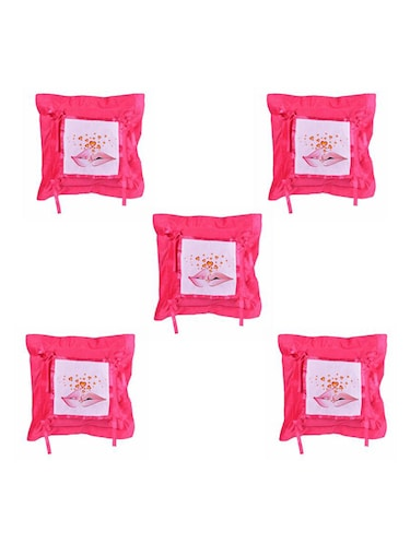 Expressing  Love Printed Set Of 5 Cushion Covers - 14535873 - Standard Image - 1
