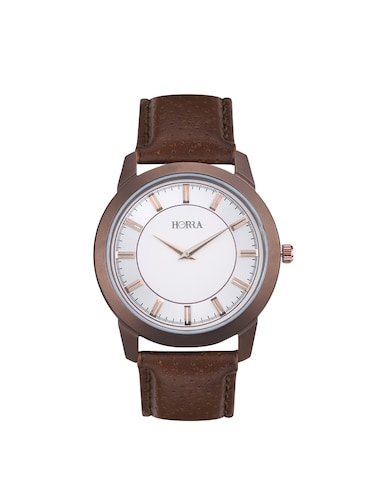 HORRA lightweight ANALOG MENS WATCH - HR717MLSBR98 - 14538512 - Standard Image - 1