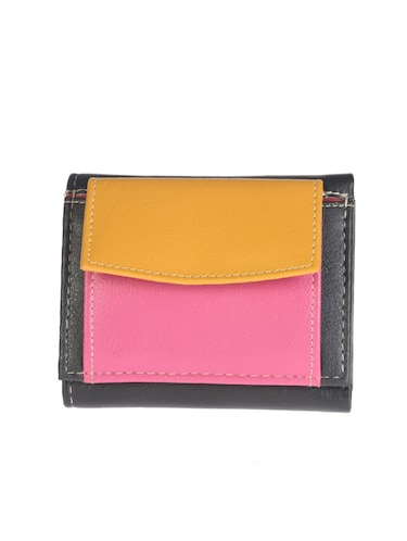 multi colored synthetic leather wallet - 14538886 - Standard Image - 1