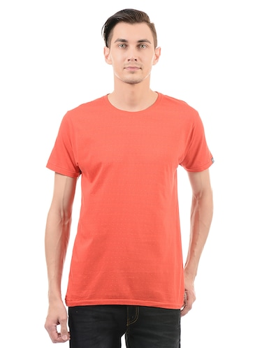 red cotton t-shirt - 14542193 - Standard Image - 1