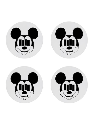 "cartoon character ""Micky Mouse"" printed Set of 4 coasters - 14543468 - Standard Image - 1"