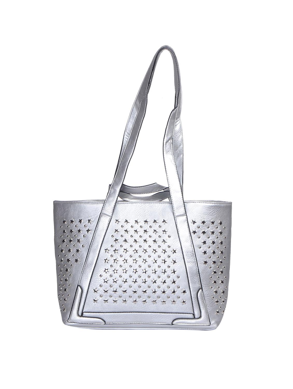 Silver Regular Handbag By Senora Bags Online Ping For Handbags In India 14543876