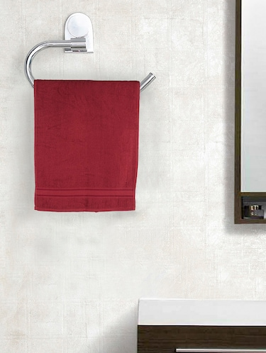 Set of 2 Cotton 370 GSM Classic Hand Towels - 14544805 - Standard Image - 1
