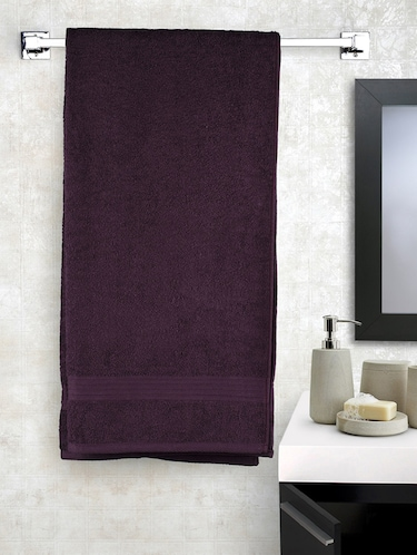 Cotton 400 GSM Monaliza bath towel - 14544827 - Standard Image - 1