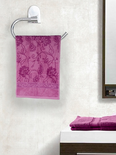 Set of 2 Cotton 410 GSM Marvel Hand towels - 14544853 - Standard Image - 1