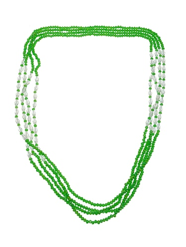 green crystal long necklace - 14545931 - Standard Image - 1
