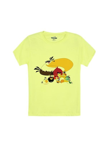 yellow cotton tshirt - 14546762 - Standard Image - 1