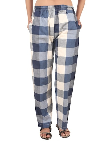 multi colored checkered pajama - 14553498 - Standard Image - 1