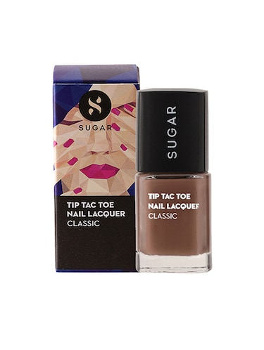 SUGAR Tip Tac Toe Nail Lacquer - 046 To Taupe It All (Taupe?Brown) - 14554111 - Standard Image - 1