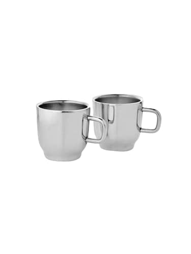 Set of 2 Double Wall Classic Cups - 14616264 - Standard Image - 1