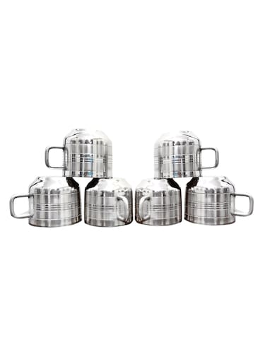 Set of 6 pc Double wall Tool Touch Tea/ Coffee cups - 14616269 - Standard Image - 1
