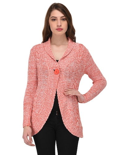 orange solid shrug - 14677882 - Standard Image - 1