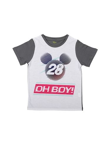 9e63ce985b4 Buy Grey Polyester T-shirt by Mickey And Friends - Online shopping ...