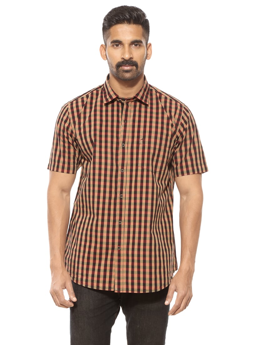 b4a1b959818e Buy Red Cotton Casual Shirt by Summer Line - Online shopping for Casual Shirts  in India | 14782001