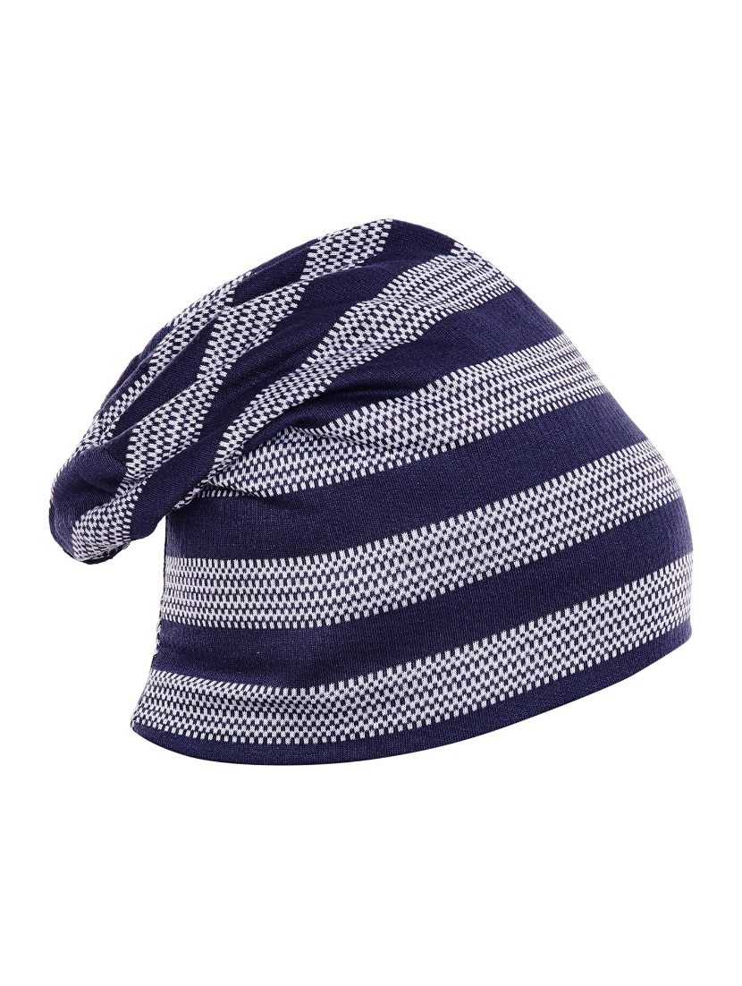 Buy Blue Cotton Beanies Cap by Vimal - Online shopping for Caps And ... 655871588be