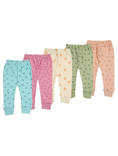 multi colored cotton blend pyjamas - 14853829 - Standard Image - 1