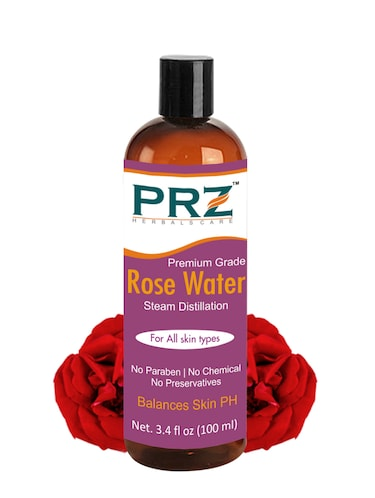 PRZ 100% Pure Natural Rosewater (Gulab Jal) (No Chemical | No Preservatives) (100ml) - 14854074 - Standard Image - 1