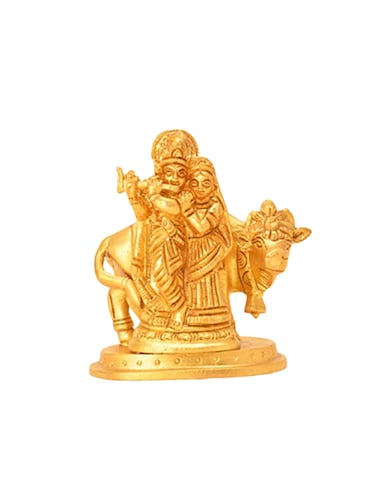 Decorative Brass Statue Of Radha Krishna Handicrafts Product - 14866047 - Standard Image - 1
