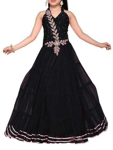 black net party gown - 14873343 - Standard Image - 1