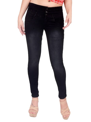 black denim jeans - 14881232 - Standard Image - 1