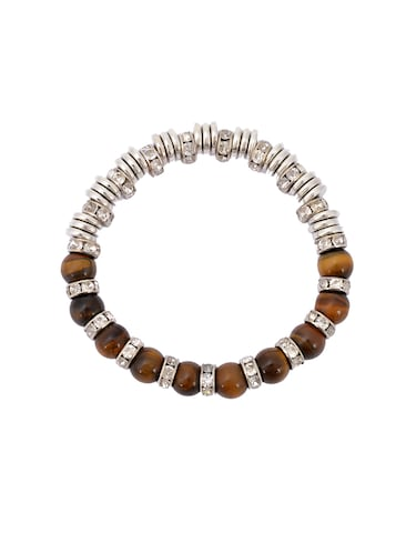 brown metal bracelet - 14884510 - Standard Image - 1