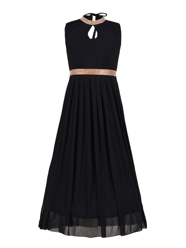 black net party gown - 14885071 - Standard Image - 1