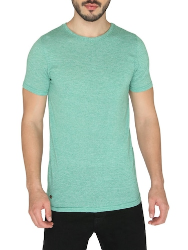 green cotton t-shirt - 14888903 - Standard Image - 1
