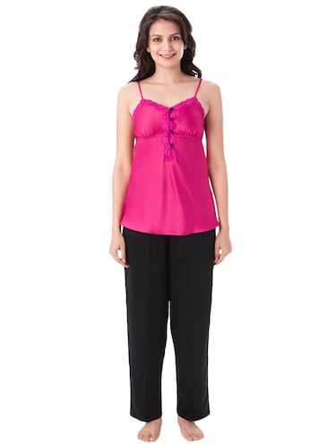 multi colored nightwear pyjama set - 14889485 - Standard Image - 1