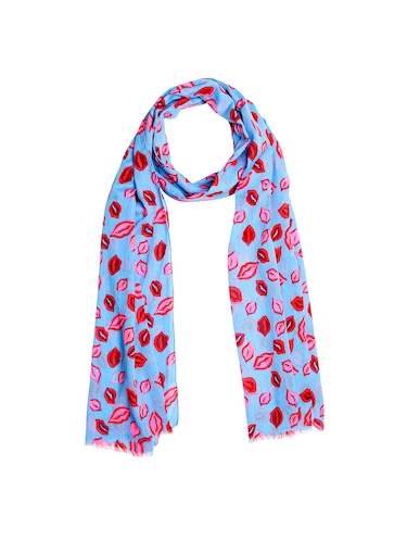 purple cotton scarf - 14890347 - Standard Image - 1