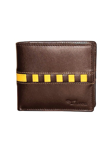 brown leather wallet - 14890520 - Standard Image - 1