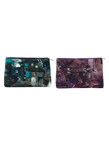multi colored polyester printed pouches - 14893316 - Standard Image - 1