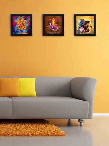 Buy Beautifully Printed Wooden Frames For Living Room Bedroom