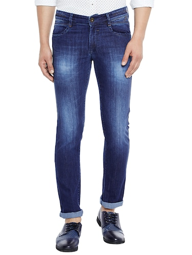 blue denim washed jeans - 14896144 - Standard Image - 1
