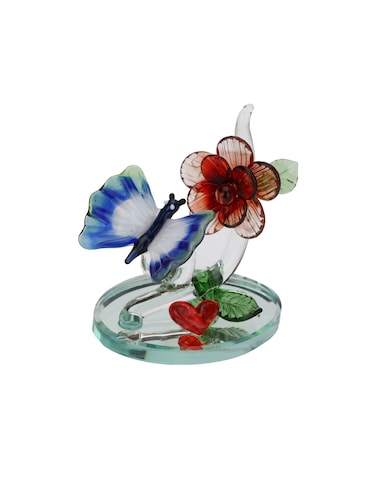 Somil Attractive Red Heart And Butterfly Decorative Showpiece - 14896219 - Standard Image - 1