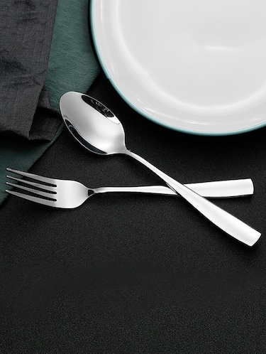 Table Ware Silver Shining Spoon Set - 14897619 - Standard Image - 1