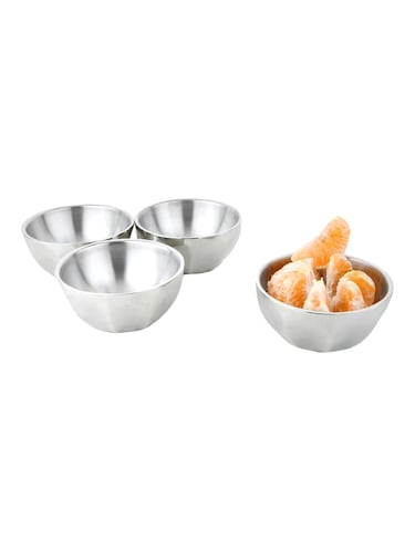 Unique Curve Design Bowl Set of 4 pcs - 14897638 - Standard Image - 1