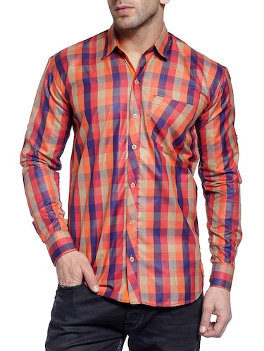 multi cotton casual shirt - 14899942 - Standard Image - 1