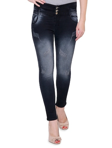 black denim jeans - 14901855 - Standard Image - 1