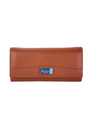 brown leather wallet - 14903047 - Standard Image - 1