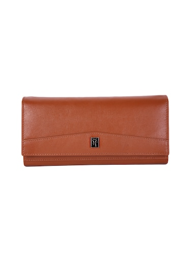 brown leather wallet - 14903048 - Standard Image - 1