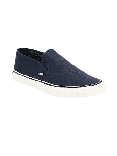 navy Canvas casual slipon - 14903290 - Standard Image - 1