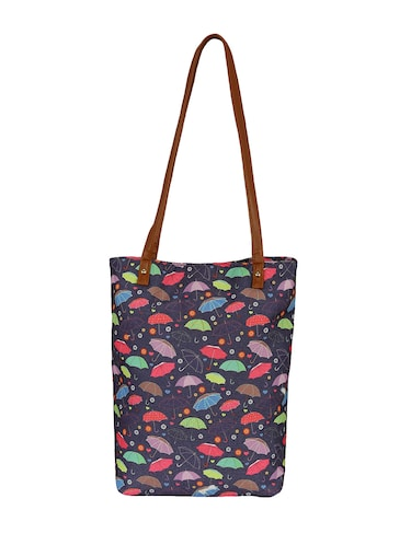 purple canvas regular tote - 14903387 - Standard Image - 1